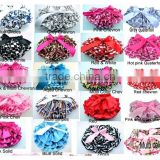 Multicolor cute satin baby ruffle diaper cover bloomers wholesale baby shorts baby bloomers