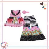 Girls Clothing Sets 2017 Summer New Kids Ladies Fashion childrens boutique clothing girls clothes online
