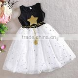 Summer New Lace Dress for Girls Kids Clothing Baby Dress Girl Flower Decoration Style Princess Dress