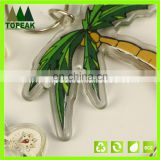 Factory direct sale key chain Transparent double-sided key chain Acrylic coconut cartoon key accessories gifts