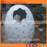 life-size animatronic hatchinig growing dinosaur dino egg