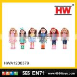 New design 15inch vinyl fashion model doll