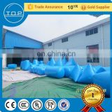 Guangzhou arena inflatable bunkers with EN14960/EN15649