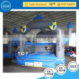 TOP INFLATABLES Brand new bouncer inflatable castle fiberglass water slide tubes for sale