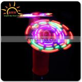 2014 Fashion mini high quality rechargeable fan with led light