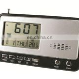 Multifunctional Calendar FM Radio