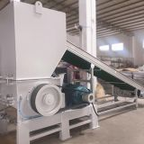 50HP plastic crusher process EPDM rubber