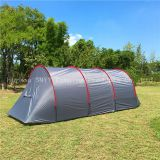 6 Person Family Tunnel Tent, 2 room 1 hall tunnel tent, camping Tent,Party Tent