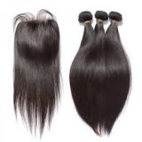 Loose Weave Synthetic 12 -20 Inch Hair Extensions Double Layers