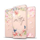 Flower TPU Cell phone cover,dull polish mobile phone case for iPhone 5/6/7/x