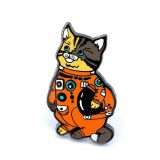 Astronaut Cat Custom Enamel Pin