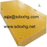 recyclable plastic construction protection sheet plastic road mat plates temporary roadway matting