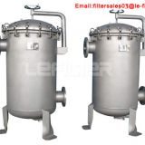316l industrial stainless steel 304 multi bag filter housing chemical liquid filter