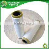 HB768 Recycled black air covered spandex yarn open end for socks production manufacturers