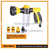 (10139) plastic hose end spray nozzle with foam dispenser                                                                                                         Supplier's Choice