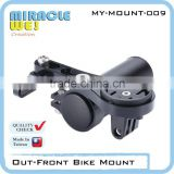 Multi Style Bicycle GPS Mounts with Light Mount for Handlebar Extension