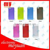 hot sale! 7 Colors/Lot Ultrathin Design 0.5mm back cover Cases For iPhone 5 5G Cell Phone Accessories