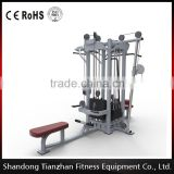 4 Multi-Station /tz-4019/multifuctional trainer hammer strength gym machine /body building crossfit fitness Equipment for sale
