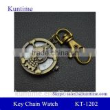 key watch with holder retro bronzed metal suit antique pocket watches