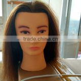 Wholesale cheap training mannequin head plastic mannequin head 100% human hair mannequin head                                                                         Quality Choice