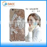 3D relief case for iphone 6,luxury for iphone 6 pc back case