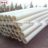White Healthy 65-800mm UHMWPE Pipe Suppliers Used in Food Industry                                                                         Quality Choice
