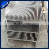 Customized 6063 anodized extruded heat sink aluminium (extruded aluminum heatsink profile, aluminum extrusion heatsink)