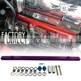 Hot Sale Intake Injector Fuel Rail For Car RB25 RB26 SR20 SR20 S14/15 RB30 1JZ 2JZ EVO123 EVO456 EVO789 B16 EJ20 4G93