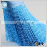 Shiny flaggable PP poly fiber for car washing brush very soft never scratch the car painting