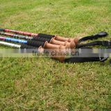 outdoor camping trekking pole, hiking stick, travel crutch
