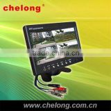 7'' CCTV LCD monitor 10 inch car lcd monitor with hdmi inputs for car display