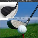 2016 New design Custom full carbon fiber golf shaft , super light real carbon fiber golf clubs