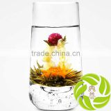 Top quality anti-aging decorating hand-made blooming tea