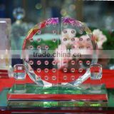 Home Decoration Crystal glass gifts Crystal Crafts for Office Decoration