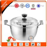 China supplier high quality stainless steel intelligent vacuum industrial soup cooking pot