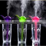 usb mini clover humidifier office air diffuser,perfume humidifier,portable water bottle cool mist humidifier