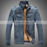 Man Leather Jackets Genuine Pu Leather Jaqueta Masculinas Inverno Couro Jacket Men Jaquetas Men's Winter Leather Jacket GZ F20                                                                         Quality Choice