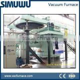 Vacuum Arc Melting Furnace with non-consumable tungsten electrode and water cooled copper crucibles