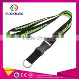 Promotional Gifts Silkscreen Name Brand Woven Nylon Lanyard