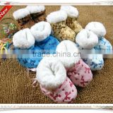 latest design best selling cute baby shoes small MOQ warm socks