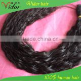 Wholesale Cheap Human Hair natural Color Top Quality 7A Grade 26inch braid remy brazilian hair bundles