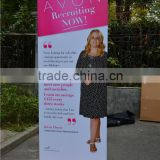 pp synthetic paper banner roll up stand