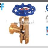 "1/2""-- 3/4""Pipe and Hose threads Straight Brass Stop Valve with CSA certificated"