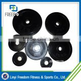 Alibaba China Fitness Crossfit Rubber Weight Plate