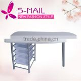 HOT sell portable nail manicure Table, pink nail manicure table, nail salon manicure table