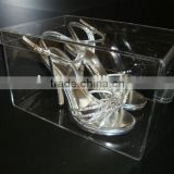 high heeled shoes/ sneaker acrylic shoe box