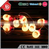 TZFEITIAN latest design 3AA battery operated invisible Santa Claus led christmas string light