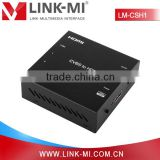 LINK-MI LM-CSH1 CVBS/AV to HDMI Converter Support PAL/NTSC Upscale Composite Up to 1080p