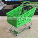 RH-SX08 New Style Plastic Small Trolley Office Stationery for Mini Plastic Shopping Cart