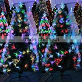 Hot sale fiber optic christmas tree LED light artificial christmas tree high quality holiday decoration fiber optic xmas tree